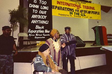 ReparationsTribunal_1991_QueenMotherMooreAndChairman2_460w